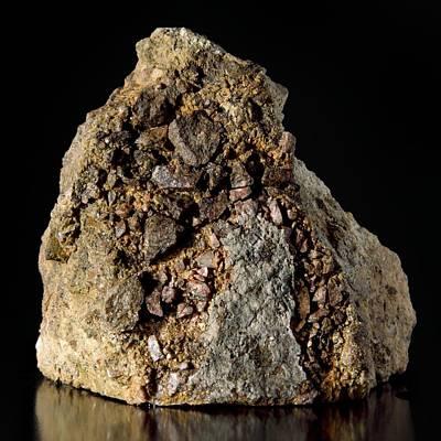 Rock From Meteorite Impact Crater Poster by Detlev Van Ravenswaay