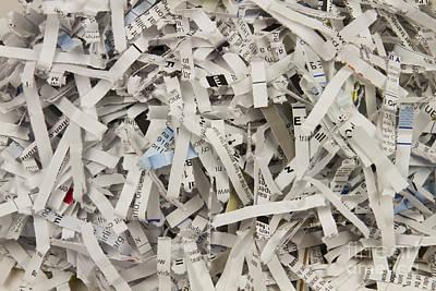 Shredded Paper Poster by Blink Images