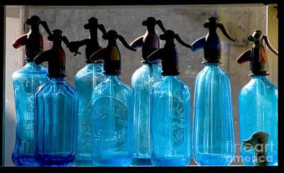 Soda Bottles Poster by Odon Czintos
