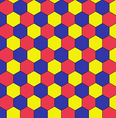 Uniform Tiling Pattern Poster by