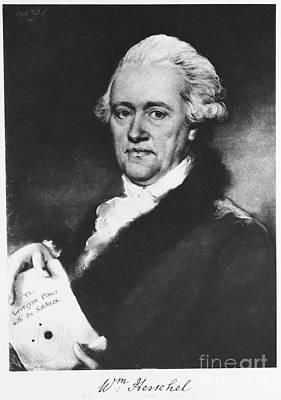 William Herschel, German-british Poster by Science Source