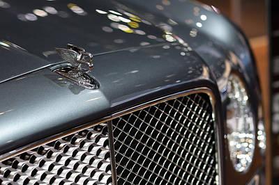 2012 Bentley Mulsanne Hood Ornament Poster by Gordon Dean II