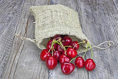 Cherries Poster by Joana Kruse