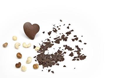 Chocolate Heart Poster by Joana Kruse