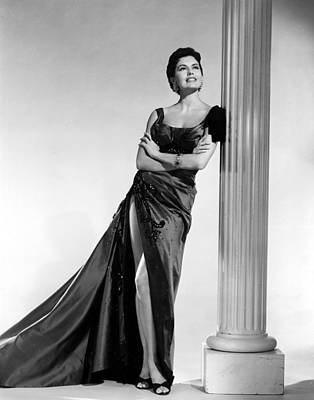 Cyd Charisse, Portrait Poster by Everett