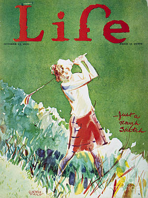 Golfing: Magazine Cover Poster by Granger