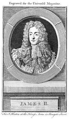 James II (1633-1701) Poster by Granger