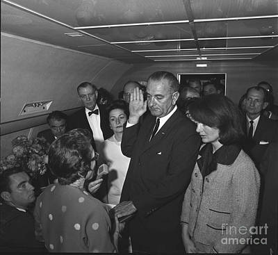 Lyndon Baines Johnson Poster by Granger