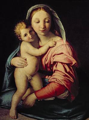 Madonna And Child Poster by Il Sassoferrato