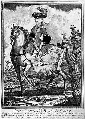 Marquise De Pompadour Poster by Granger