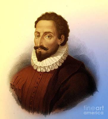 Miguel De Cervantes, Spanish Author Poster by Photo Researchers
