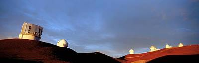 Observatories On Summit Of Mauna Kea Poster by David Nunuk