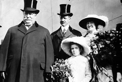 President William Howard Taft Poster by Everett