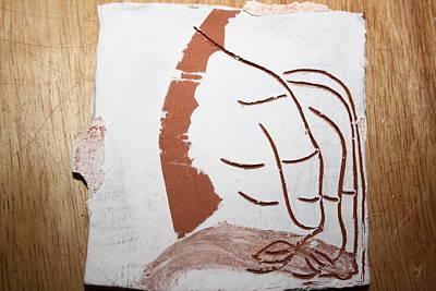 Senses - Tile Poster by Gloria Ssali