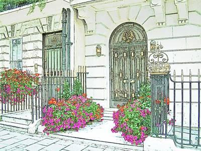 The Doors Of London Poster by Joseph Hendrix