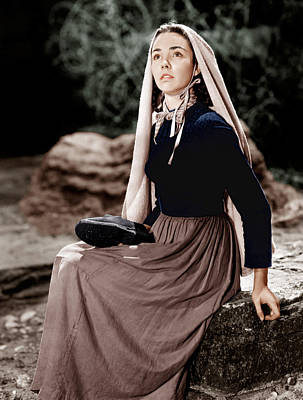 The Song Of Bernadette, Jennifer Jones Poster by Everett