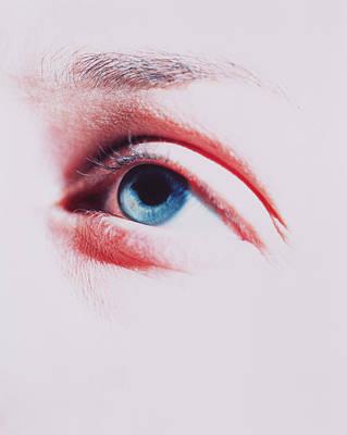 Woman's Eye Poster by Cristina Pedrazzini