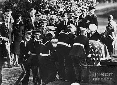 John F Kennedy (1917-1963) Poster by Granger