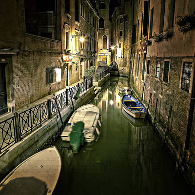 Venezia Poster by Joana Kruse