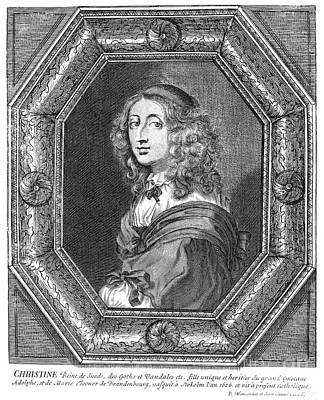 Christina (1626-1689) Poster by Granger