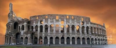 Colosseum. Rome Poster by Bernard Jaubert