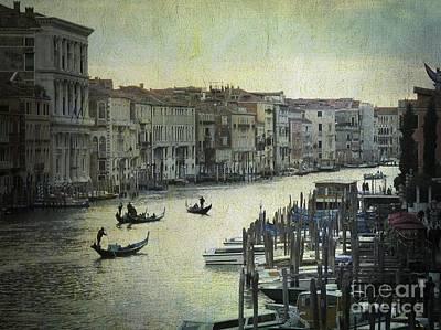 Venice Poster by Bernard Jaubert