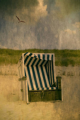 Beach Chair Poster by Joana Kruse