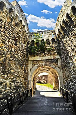 Kalemegdan Fortress In Belgrade Poster by Elena Elisseeva