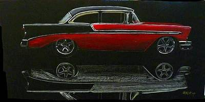 53 Chevy Poster by Richard Le Page