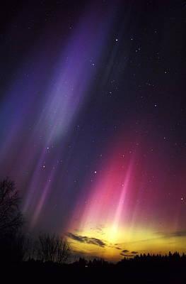 Aurora Borealis Poster by Pekka Parviainen