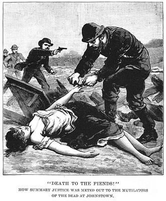 Johnstown Flood, 1889 Poster by Granger