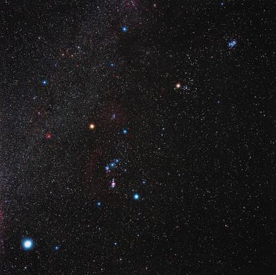 Orion Constellation Poster by Eckhard Slawik