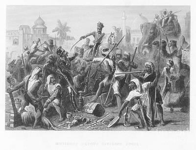 India: Sepoy Rebellion, 1857 Poster by Granger