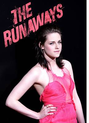 Kristen Stewart At Arrivals For The Poster by Everett