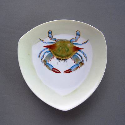 866 1 Part Of  Crab Set 1 Poster by Wilma Manhardt