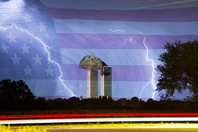 9-11 We Will Never Forget 2011 Poster by James BO  Insogna