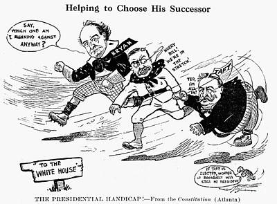 Presidential Campaign 1908 Poster by Granger