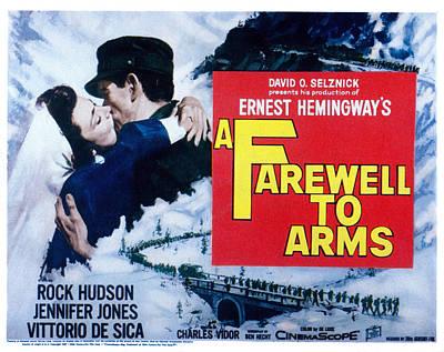 A Farewell To Arms, Jennifer Jones Poster by Everett