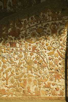 A Frieze In The Moche Period Poster by Nigel Hicks