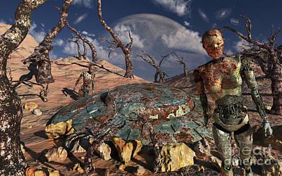 A Robotic Exploration Team Poster by Mark Stevenson