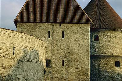 A Section Of Wall Around Tallinn, Built Poster by Sisse Brimberg
