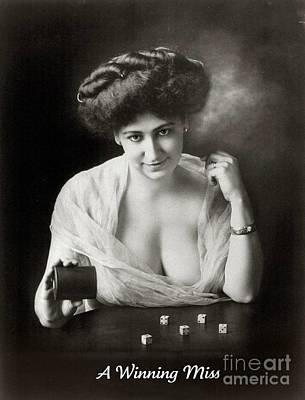 A Winning Miss 1911 Poster by Padre Art