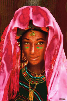 A Wodaabe Bride Poster by Jann Paxton