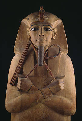 A Wooden Coffin Case Of The Pharaoh Poster by O. Louis Mazzatenta