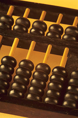 Abacus Poster by David Aubrey