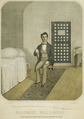 Abolitionist Passmore Williamson Poster by Everett