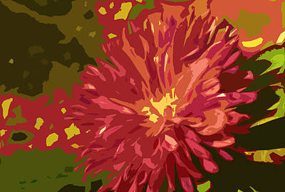 Abstract Flower 10 Poster by Sumit Mehndiratta
