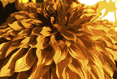 Abstract Flowers 14 Poster by Sumit Mehndiratta