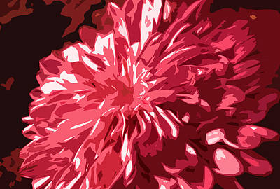 Abstract Flowers Poster by Sumit Mehndiratta
