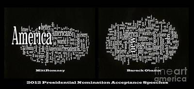 Acceptance Speeches Poster by David Bearden